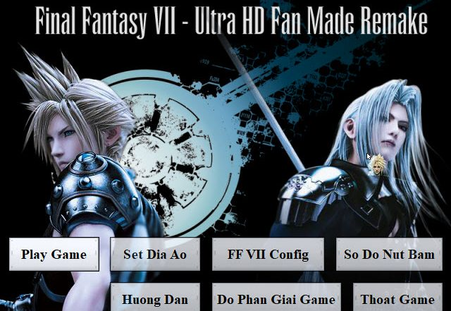 Final Fantasy VII Remake PC0