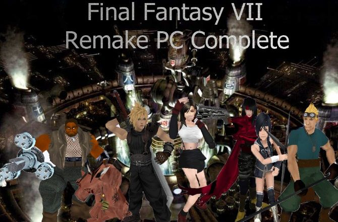 Final Fantasy VII Remake PC1
