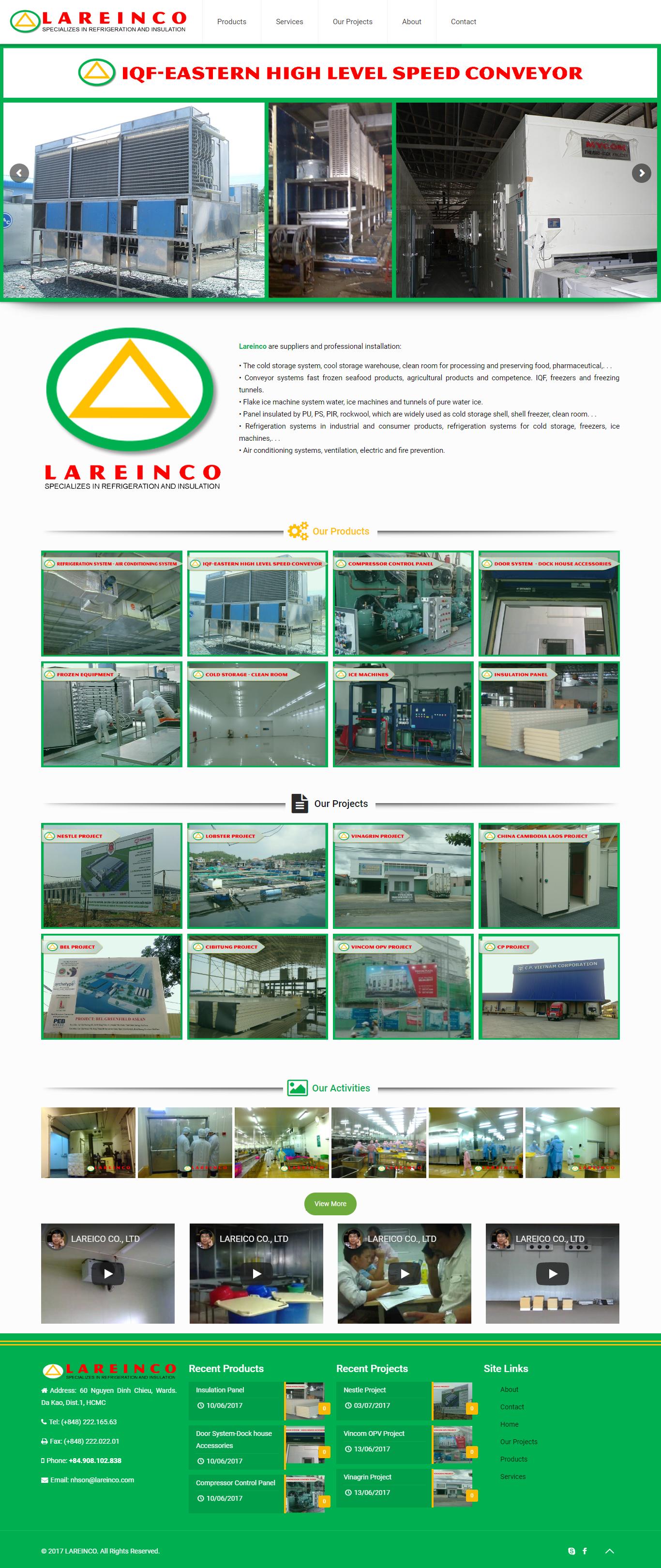 Lareinco.com