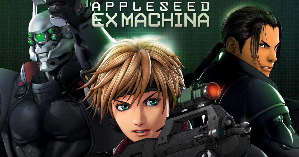appleseed ex machina 2007