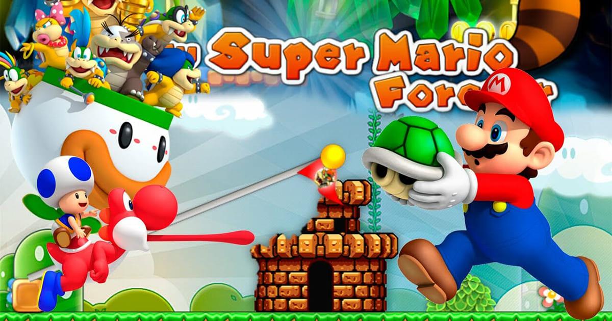 super mario 3 forever